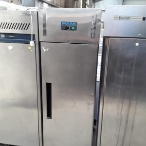 Used Polar G593 Stainless Steel Single Door Upright Freezer For Sale