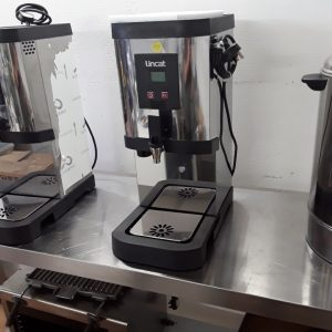 Used Lincat EB3F Stainless Steel Table Top Auto Feed Water Boiler For Sale