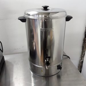 Used Buffalo GL348 Stainless Steel Table Top Hot Water Boiler For Sale