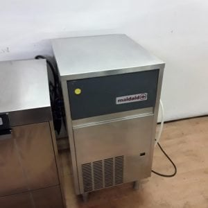 Used Maidaid M50-25 Stainless Steel Freestanding Ice Maker Machine For Sale