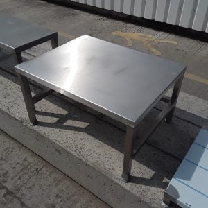 Used   Stainless Steel Stand 70cmW x 55cmD x 39cmH