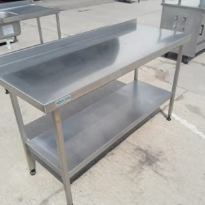 Used Sissons  Stainless Steel Table Shelf 150cmW x 60cmD x 88cmH