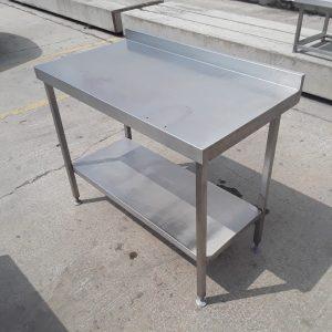 Used   Stainless Steel Table Shelf 110cmW x 60cmD x 88cmH