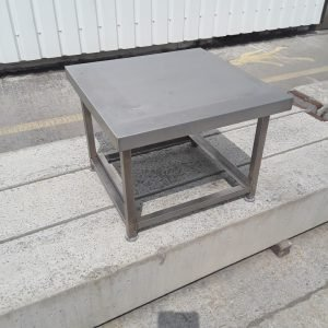 Used   Stainless Steel Dishwasher Oven Stand 65cmW x 65cmD x 50cmH