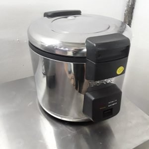 Used Burco 77000 Stainless Steel Table Top Rice Cooker Warmer For Sale