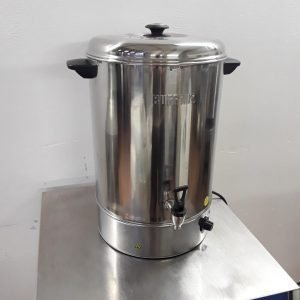 Ex Demo Buffalo GL348 Stainless Steel Table Top 30 L Heated Hot Water Boiler Urn For Sale