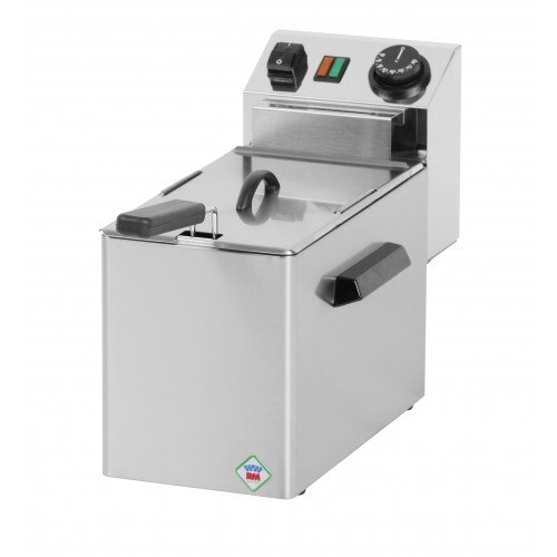 New RM Gastro FE04E Single Basket Table Top Electric Fryer For Sale