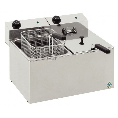 New RM Gastro FE88 Double 2 x 8L Table Top Electric Fish Fryer For Sale