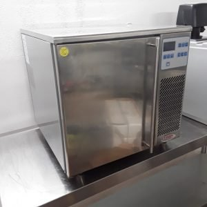 Used Valera BF030AF GN2/3 Stainless Steel Table Top Blast Chiller Freezer For Sale