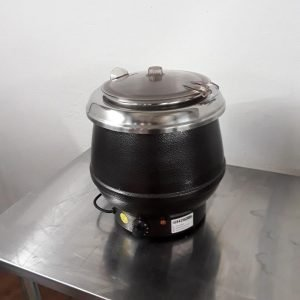 Used Dualit HP10 Table Top Heated Hot Soup Kettle For Sale