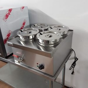 New Infernus WBS-520 Stainless Steel Table Top Wet Bain Marie For Sale