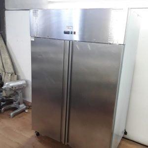Ex Demo Valera 1LD-B-UGNVF2 Stainless Steel Double Fridge For Sale
