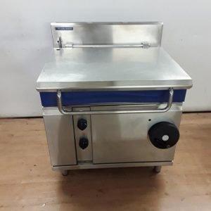 Used Blue Seal G580-8 Stainless Steel Bratt Pan For Sale
