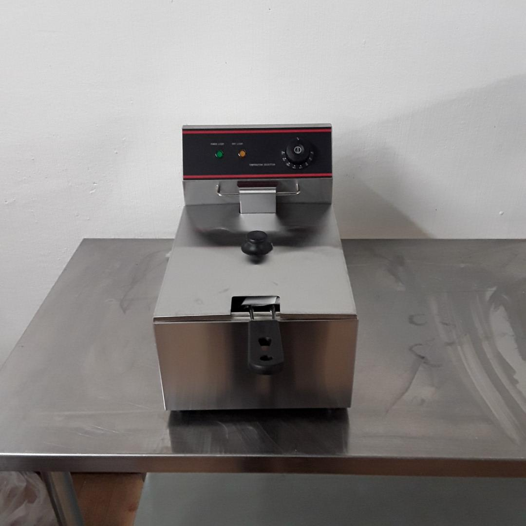 New  EF-6L Stainless Steel Table Top Single Fryer 6L For Sale