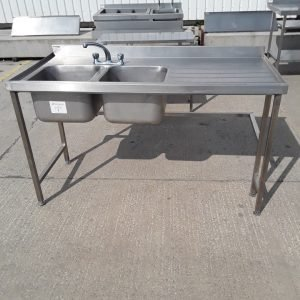 Used   Double Bowl Sink For Sale