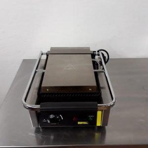 Used Buffalo CD474 Contact Panini Grill For Sale