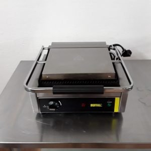 Used Buffalo DM903 Contact Panini Grill For Sale