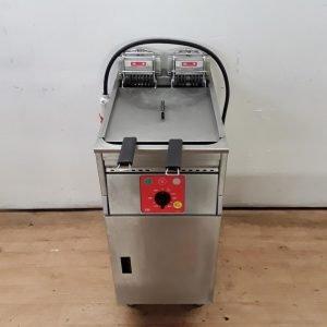 Used Falcon Fri Fri Basic 411 Freestanding Double Fryer For Sale