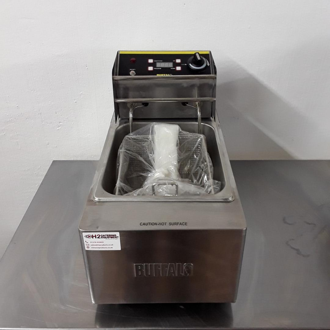 Ex Demo Buffalo L490 Table Top Single Fryer For Sale