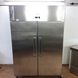 Used Valera  Stainless Steel Double Upright Fridge For Sale