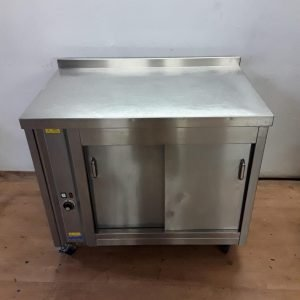 Used   Stainless Steel Hot Cupboard For Sale