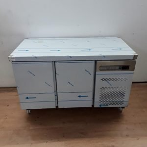 New B Grade Sterling Pro SPP7 Stainless Steel Bench Fridge For Sale
