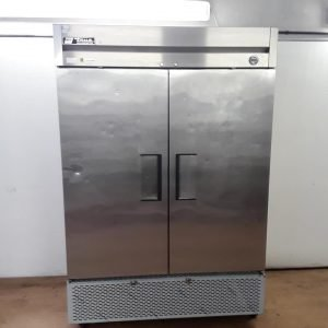 Used True T49 Stainless Steel Double Fridge For Sale