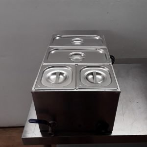 Used   Wet Bain Marie 4 Pot For Sale