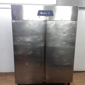 Used Electrolux  Stainless Steel Double Upright Fridge For Sale
