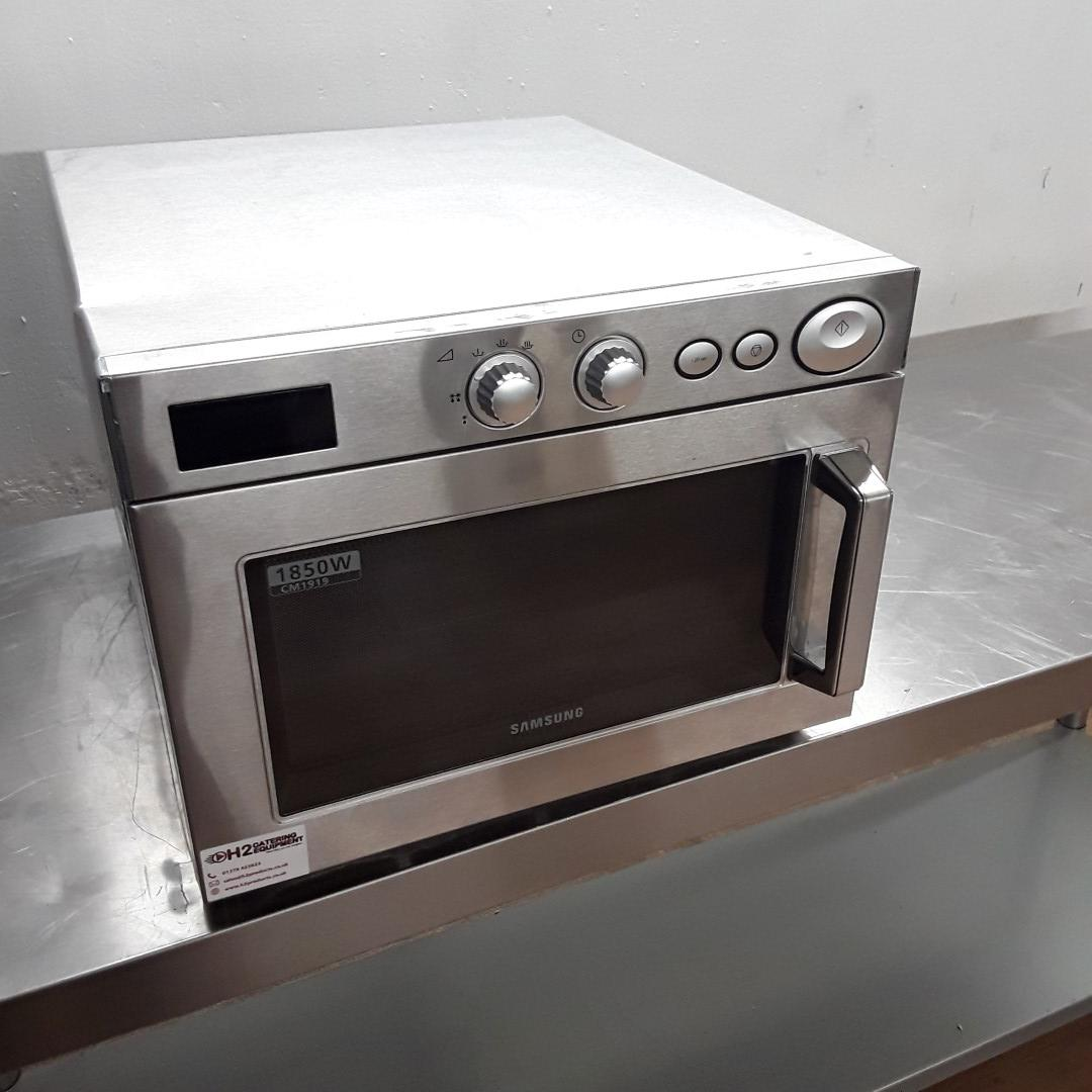 Ex Demo Samsung CM1919 Microwave 1850 Watt For Sale