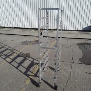 Used   Aluminium Bakery Trolley For Sale