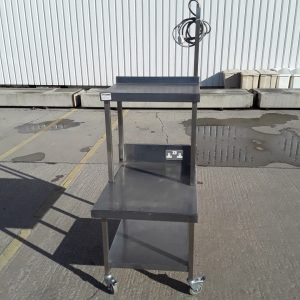 Used   Stainless Steel Table Stand 60cmW x 60cmD x 82cmH