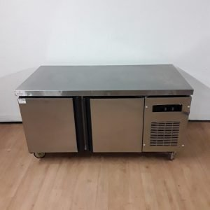 Used   Double Bench Fridge No Shelves For Sale