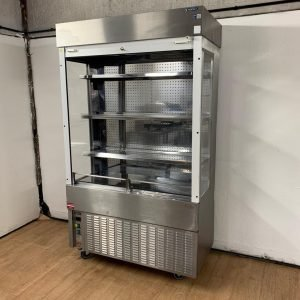 Used Moffat MM12 Stainless Steel Multideck Chiller 121cmW x 59cmD x 207cmH