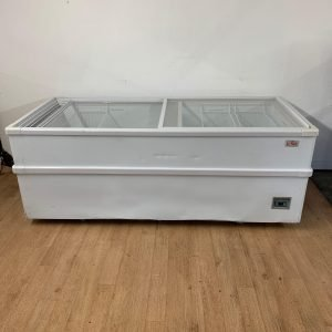 Used Lowe CIU201 Display Chest Freezer For Sale