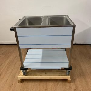 New RM Gastro BMPK-2120 Double Wet Bain Marie Trolley For Sale