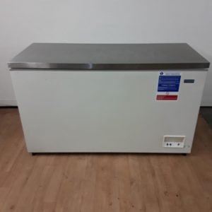 Used Polar CE212 Stainless Top Chest Freezer For Sale
