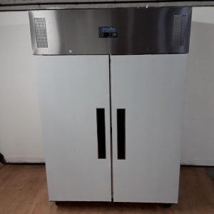 New B Grade Polar G594 Stainless Double Upright Fridge For Sale