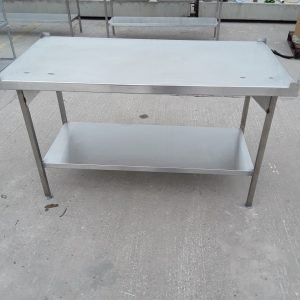 Used   Stainless Steel Table Stand For Sale