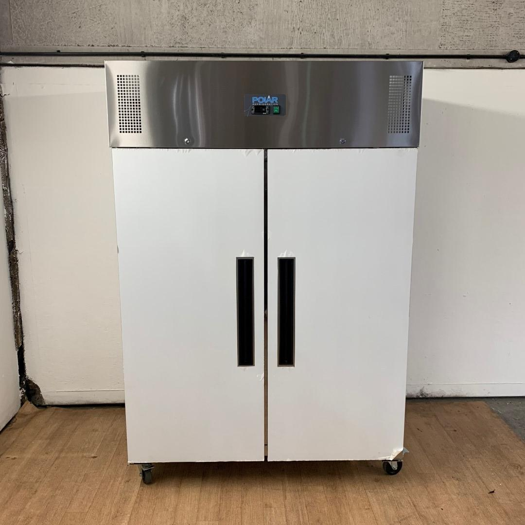 New B Grade Polar G595 Stainless Double Upright Freezer For Sale