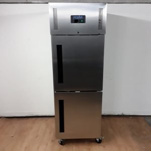 New B Grade Polar CW193 Stainless Single Upright Fridge For Sale