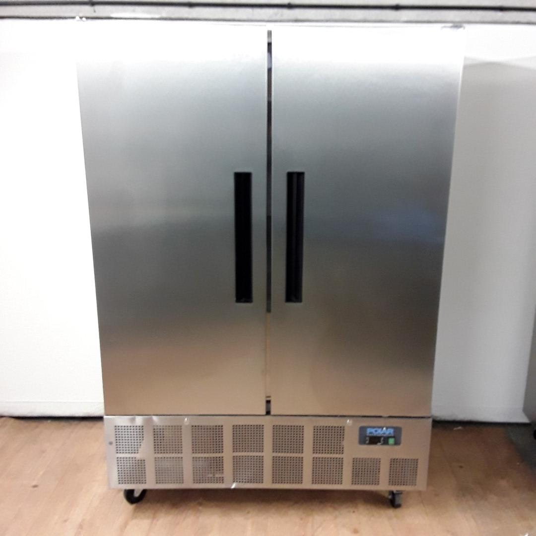 New B Grade Polar GD879 Stainless Double Upright Fridge For Sale