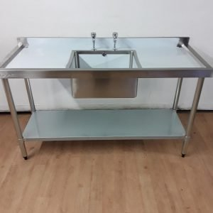 New B Grade Vogue  Stainless Steel Single Sink For Sale