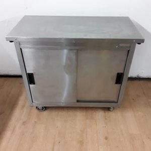 Used Moffat MH9 Stainless Steel Hot Cupboard For Sale