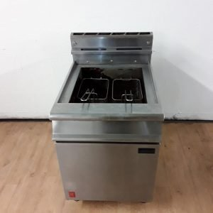 Used Falcon G3860 Freestanding Double Fryer For Sale