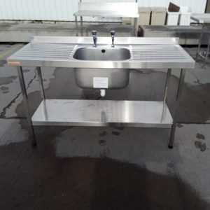 Used Franke  Stainless Steel Single Sink For Sale