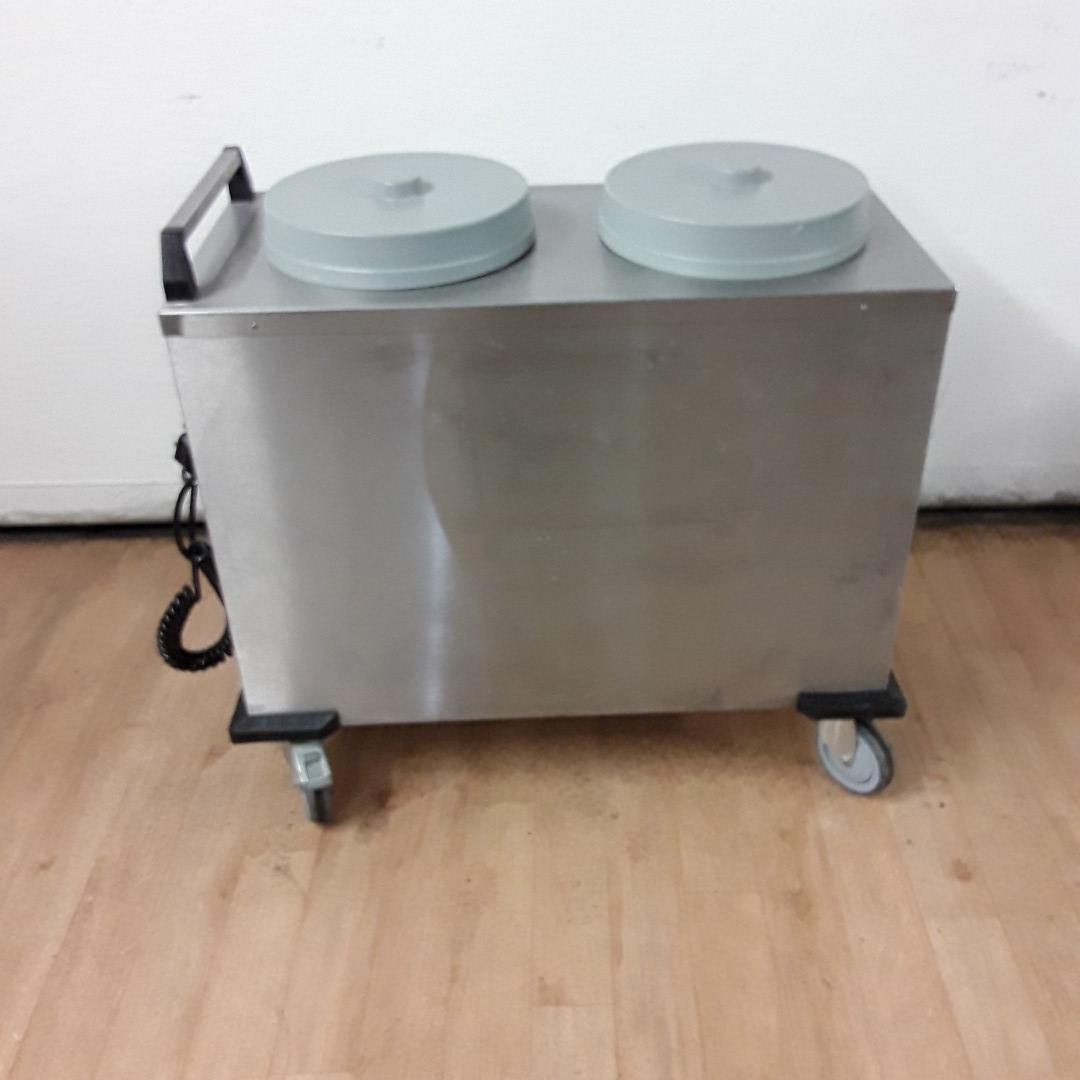Used  2 THN Double Heated Plate Lowerator For Sale