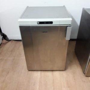 Used Gram K 200RU H 3N Stainless Steel Under Counter Fridge For Sale