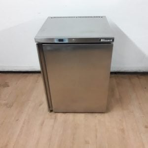 Used Blizzard BZ-UCR140 Stainless Steel Under Counter Fridge For Sale
