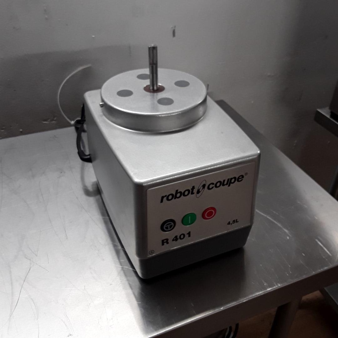 Ex Demo Robot Coupe R401 Food Processor/Veg Prep Base Only For Sale
